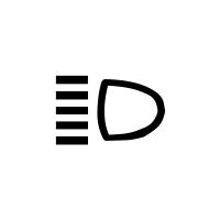 Kontrolka dálkových světel