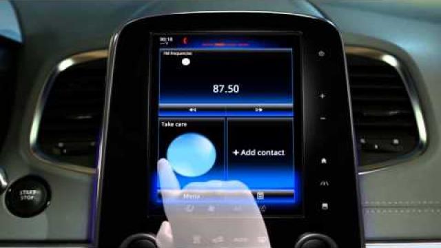 Popis multifunkční dotykové obrazovky
