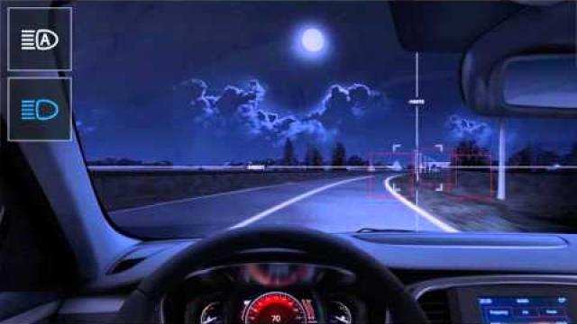 Automatické tlumení světlometů