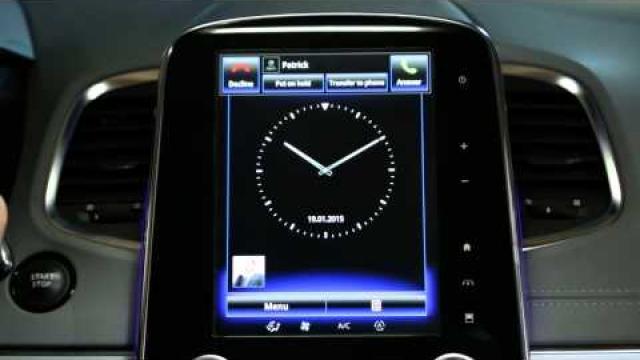 Jak přijmout telefonní hovor za jízdy prostřednictvím rozhraní R-Link 2?